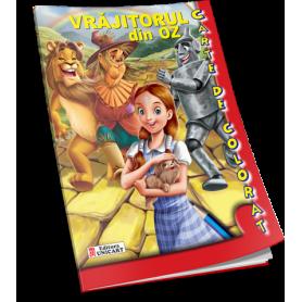 Carte de colorat A5 Vrajitorul din Oz