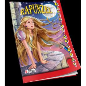 Carte de colorat A5 Rapunzel