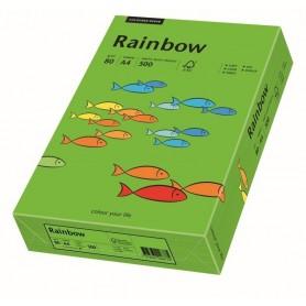 Hartie copiator colorata A4 80g R green intens 160924 500 coli/top