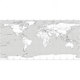 Harta LUMEA fizica