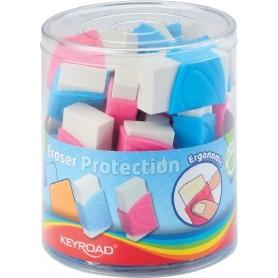 Radiera KEYROAD Protection KR970987 cu protectie plastic diverse culori