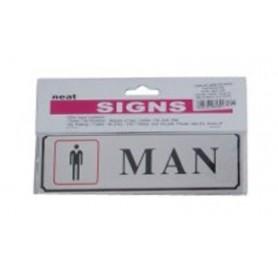 Semnalizare carton plastifiat Office-Cover MAN