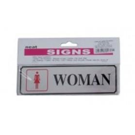 Semnalizare carton plastifiat Office-Cover WOMAN
