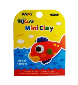 Plastilina AMOS iClay 30g mini clay model Peste
