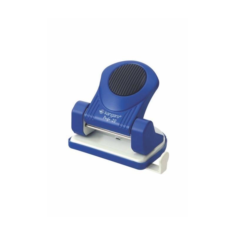 Perforator 20 coli KANGARO Perfo20, albastru