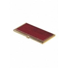 Suport carti de vizita BESTAR 1327WDM 94x59x8 mm lemn mahon