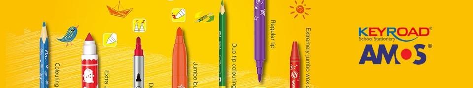 Seturi de creioane colorate cerate: Fibracolor, ColorArte